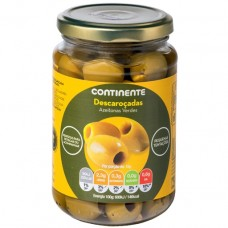 Зеленые оливки без косточки, 345 г, Continente