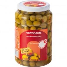 Зеленые оливки с паприкой, 800 г, Continente