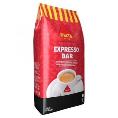 Кофе в зернах Expresso Bar интенсивность 9, 1 кг, Delta