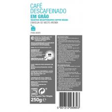 Кофе без кофеина в зернах, 250 г, Continente