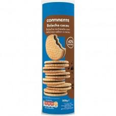 Печенье с какао начинкой, 500 г, Continente