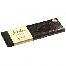 Черный шоколад Premium 70%, 250 г, Jubileu