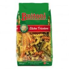 Паста Фузилли Триколор из твердых сортов пшеницы, 500 г, Buitoni