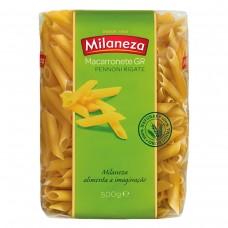 Паста Пенне из твердых сортов пшеницы, 500 г, Milaneza