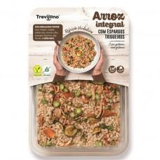 Бурый рис с овощами без глютена и соли, 300 г, Trevijano
